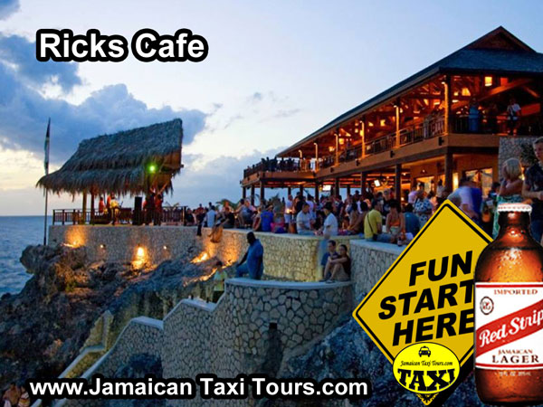 Ricks Cafe in Negril