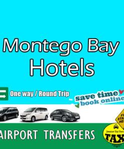 Montego Bay Hotel Transfers