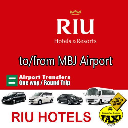 riu montego bay airport transfer