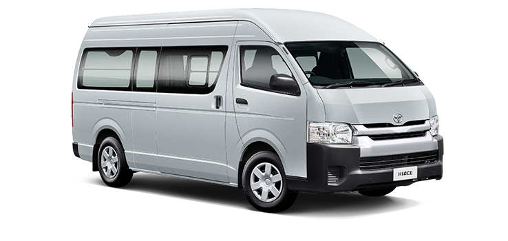 Toyota hiace for airport transfer