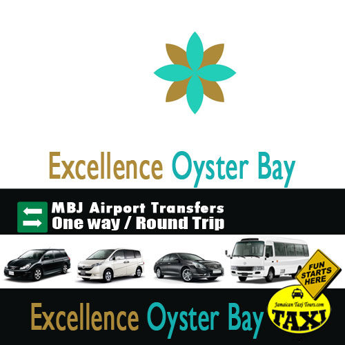 Excellence Oyster Bay airport transfer