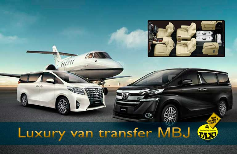 Luxury airport transfer jamaica