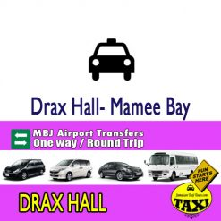 drax hall airport transfer