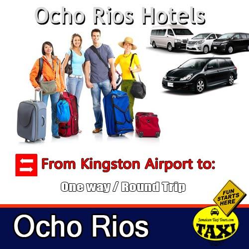 kingston airport to ocho rios