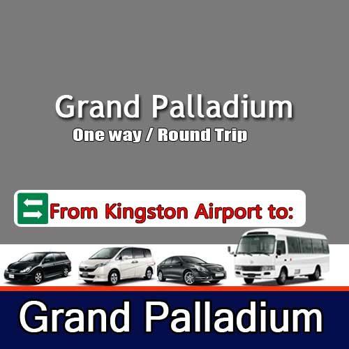 Grand Palladium transfers Kingston Airport