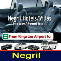 Negril Hotel transfers Kingston Airport