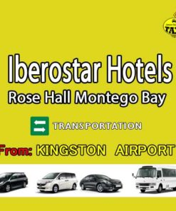 Kingston airport to Iberostar rose hall