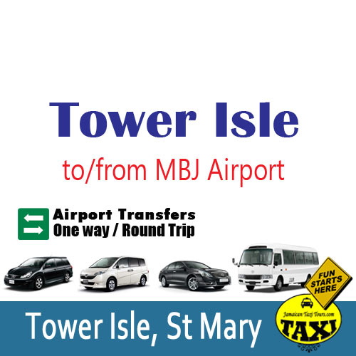 Tower isle airport transfers
