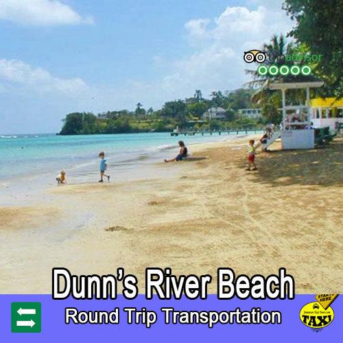 Dunns river fals Beach