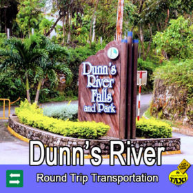 Dunns river falls entrance