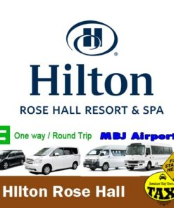 airport transfer to hilton rose hall montego bay