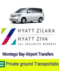 Hyatt Ziva and Zilara airport transfers