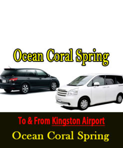 ocean coral spring Kingston airport transfer