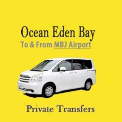Ocean Eden Bay Resort airport transfer