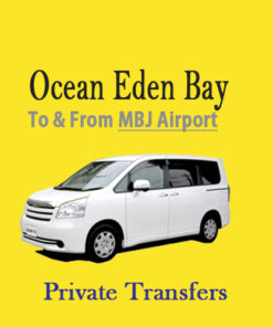 Ocean Eden Bay Resort airport transfer